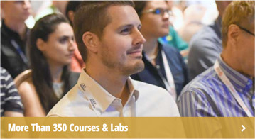 More than 350 courses and labs